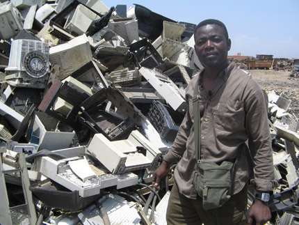 In Ghana, environmental journalist Mike Anane