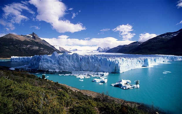 Patagonia-South-America-white-glaciers